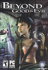 Beyond Good & Evil (PC, 2003) BRAND NEW and SEALED jewel case 3 CDROM ubisoft