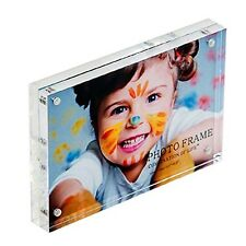 "Combination of Life Clear Acrylic Magnetic Photo Picture Frame(3.5""X5"")"