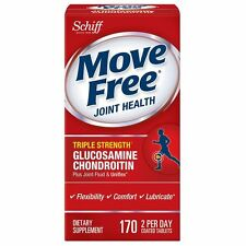 NEW! SCHIFF MOVE FREE ADVANCED TRIPLE STRENGTH GLUCOSAMINE CHONDROITIN JOINT