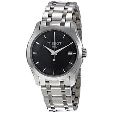 Tissot T-Trend Couturier Black Dial Ladies Watch T0352101105100
