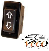 ELECTRIC WINDOW AERIAL ROCKER TYPE SWITCH UP AND DOWN RECTANGULAR  K697