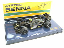 LOTUS RENAULT F1 98T AYRTON SENNA 1986 #12 WORLD CHAMPION PMA 540864312 1/43 NEW