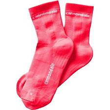 Cannondale socks Coral Pink Mid L Large mens cycling bike bicycle