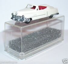 MICRO PRALINE HO 1/87 CADILLAC 54 CADDY CABRIOLET OUVERT BLANC CREME IN BOX