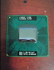 1pc Intel SL9SF Core 2 Duo Mobile T7200 2.00GHz/4MB/667MHz Socket M CPU tested