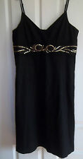 STUNNING BLACK DRESS FOR CHRISTMAS  BY b.young SIZE XL