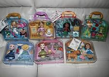 "New! Disney Animators' Collection Mini Doll 5"" Play Set - Set of 7 Playsets LOT"