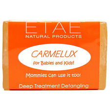 Etae Carmelux Babies & Kids Deep Treatment Detangling Hair Soap Bar Shampoo 4oz