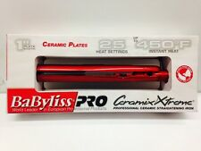 "NEW BABYLISS PRO CERAMIX XTREME 1"" 450F /25 Setting FLAT IRON/HAIR STRAIGHTENER"