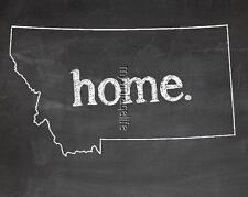 "MONTANA HOME STATE PRIDE 2"" x 3"" Fridge MAGNET CHALKBOARD CHALK COUNTRY"