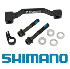 Shimano Disc Brake Adapter, Front, SM-MA-F203P/PM, (PM Caliper to 180mm PM Fork)