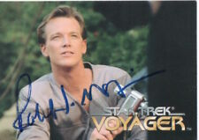 ROBERT DUNCAN McNEILL Signed Trading Card STAR TREK Lieutenant Tom Paris COA