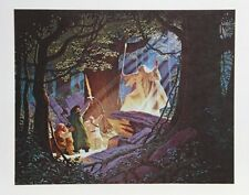 "Brothers Hildebrandt- Rare LE,Hand Signed Lithograph- ""Gandalf the White"""