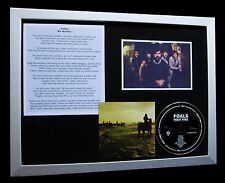 FOALS My Number LIMITED CD TOP QUALITY MUSIC FRAMED DISPLAY+EXPRESS GLOBAL SHIP!