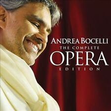 NEW - The Complete Opera Edition [18 CD Box Set] by Andrea Bocelli
