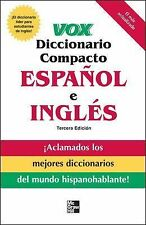 Mcgraw Hill Spanish - Vox Diccionario Compacto 3e (2007) - New - Trade Pape