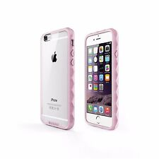 SOOPER iPhone 6 Case Non-Slip NUDE Hybrid Series- Lovely Pink