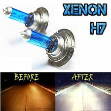 PREMIUM 2 x XENON WHITE H7 100w 12V SUPER BRIGHT HEADLIGHT BULB UPGRADE