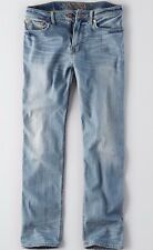 American Eagle AE Jeans Relaxed Straight, 34x36, Extreme Flex, Light Wash NEW!