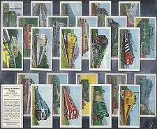 BELLAMY & SONS-FULL SET- VINTAGE AND MODERN TRAINS OF THE WORLD - EXC+++