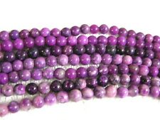 Sugilite beads 6mm round natural 15 inch strand 60 plus beads for stringing