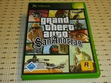 Grand Theft Auto (GTA) San Andreas para Xbox * OVP *