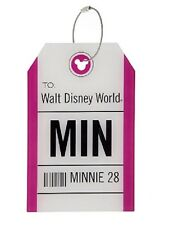 DISNEY PARKS Disney Luggage Bag TAG -Minnie Mouse 28 TAG luggage Bag Tag