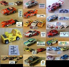 $3.99 AFX, TOMY & AJ's Oscar The Track Cleaner Slot Car Repro Sticker Sets!!!