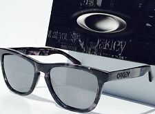 NEW* Oakley Frogskins LX Grey Tortoise Black Iridium Sunglass 2043-08 ELITE