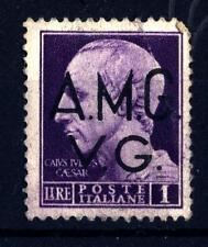 """ITALIA - Regno - 1942 - Serie """"Imperiale"""" - Effigie di Giulio Cesare - 1 L. viol"""
