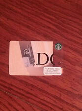 2015 Washington DC Lincoln Memorial Starbucks Card NEW No Value/Swipe + Bonus