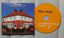 Field Music A House is not a home Promo CD