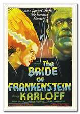 Bride of Frankenstein New 12x18inch 1935 Classic Old Horror Movie Silk Poster