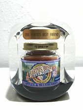 Advertisement Paperweight Lucite Earth's Best Baby Food
