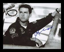 TOM CRUISE - TOP GUN AUTOGRAPHED SIGNED & FRAMED PP POSTER PHOTO