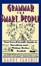 Grammar for Smart People, Tarshis, Barry, Good Book