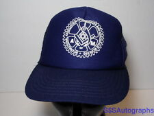 Vtg INTERNATIONAL ASSOCIATION OF MACHINISTS & AEROSPACE WORKERS Snapback Hat Cap