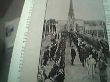 magazine picture / article ww2 world war two - king in the isle of man