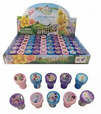 12PC DISNEY TINKERBELL FAIRIES STAMPS STAMPERS PARTY FAVOR CANDY BAGS GIFTS