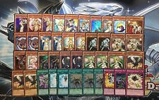 YUGIOH COMPLETE FULL LIGHTSWORN DECK JUDGMENT DRAGON LYLA BLACK ROSE SOLAR