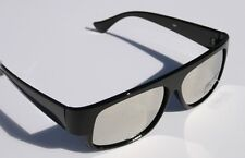 New MIRROR gangster cholo sunglasses shades EAZY E Locs OG Dark Lens