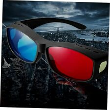 Universal Type 3D Glasses/Red Blue Cyan glasses Anaglyph 3D Plastic Glasses GU
