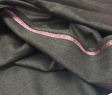 Super 200s gris de cachemira Vicuña 3.5m satisfaciendo medio Herringbone