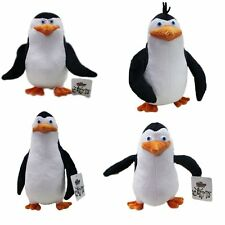 4Pcs/Set The Penguins of Madagascar Plush Stuffed Toys Dolls Gift 16-19cm New