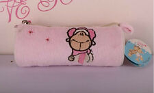 Soft NICI Pencil Case, Cosmetic Bags, Pink Headset Sheep Gift with Free Shipping