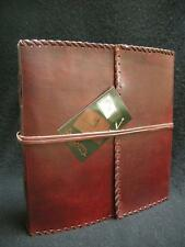Handmade Leather Sketchbook Diary Journal - Pages of  Cartridge Art Paper