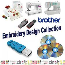 BROTHER BABYLOCK BERNINA Embroidery Designs Pes Collection