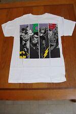 Adult T-Shirt DC Comics Batman Flash Green Lanter Superman Super Hero Small