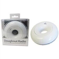 Brand New Boxed Bianco a forma di ciambella Radio FM per UNI-com