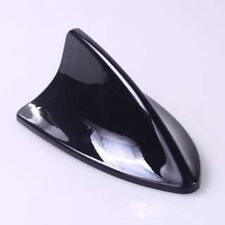 CAR BLACK SHARK FIN ANTENNA ROOF DUMMY AERIAL DECORATION STYLING BLACK AC44